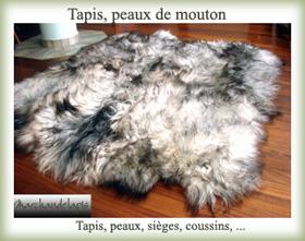 Tapis peau pas cher tapis peau de vache occasion tapis - Tapis peau de mouton conforama ...